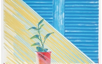 65039: David Hockney (b. 1937) Sun, 1973 Lithograph and