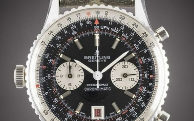 """A RARE GENTLEMAN'S """"NOS"""" STAINLESS STEEL BREITLING"""