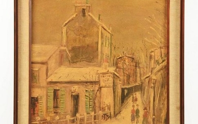 ATTRIBUTED TO MAURICE (VALADON) UTRILLO (FRENCH, 1883