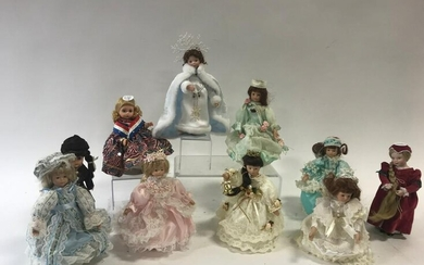 Assorted Collection of Dolls