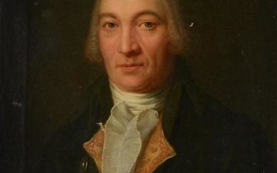 British School (18th century), Portrait of a gentleman