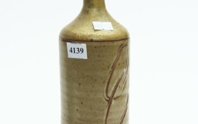 CARL MCCONNELL, STONEWARE BOTTLE VASE, H. 30CM, LEONARD JOEL LOCAL DELIVERY SIZE: SMALL