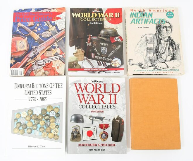 COLLECTORS WWII REFERENCE BOOK LOT