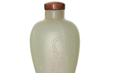 Chinese Jade Snuff Bottle, 18th Century
