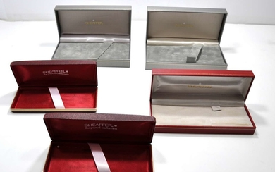 Collection of 5 Pen Boxes made by Sheaffer