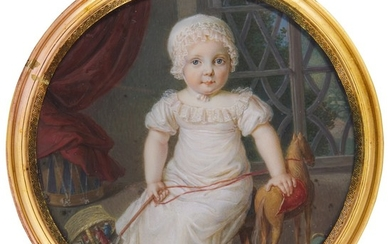 FRENCH SCHOOL, EARLY 19TH CENTURY | PORTRAIT OF A YOUNG BOY, CIRCA 1815