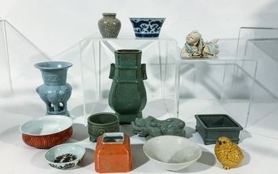 GROUP OF CHINESE PORCELAINS