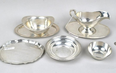 Group Seven Small Sterling Serving Items