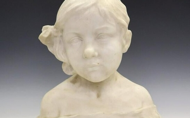 H. Unger Marble Bust