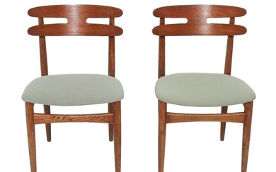 Henry Walter Klein Danish Modern Side Chairs, Pair