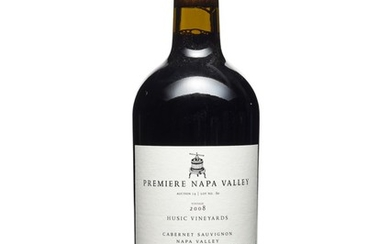 Husic Vineyards, Cabernet Sauvignon 2008, Premiere Napa Valley Premiere Napa Valley offers limited edition, small production (60-240 bottles produced), one-of-a-kind cuvées from top tier California producers. The winemakers utilize this special...