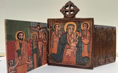 Icon (1) - Wood, natural colors