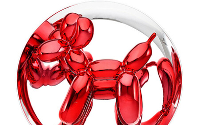 Jeff Koons, Balloon Dog (Red)