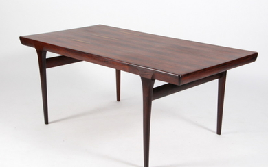 Johannes Andersen. Dining table in rosewood
