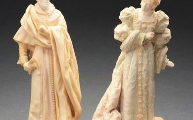 LOT OF 2: ROYAL DOULTON FIGURINES.
