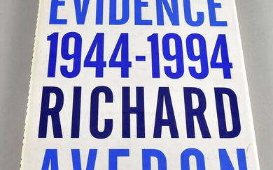 Richard Avedon Evidence 1944-1994, first edition, published by...