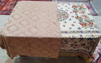 TWO MIDDLE EASTERN BED THROWS