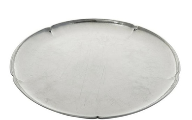 The Kalo Shop lobed round serving tray, #H958