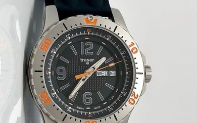 Traser - H3 Extreme Sport Watch with Silicone Strap Swiss Made - 100196- Men - Brand New