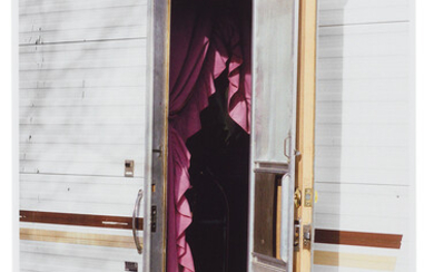 William Eggleston: Untitled (Open Door Into Trailer, Arizona)