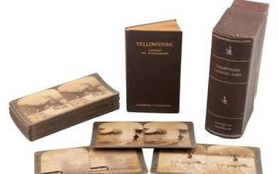 Yellowstone Through the Stereoscope, 30 views