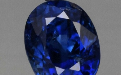 0.66 ct. Natural Royal Blue Sapphire - SRI LANKA,CEYLON