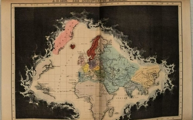 1856 Quin World Maps Throughout Ages -- Ancient and