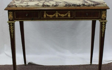 19 Century French Louis XVI Style Side Table.