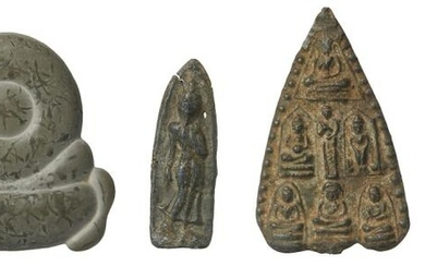 A COLLECTION OF FINE EASTERN ANTIQUITIES PLUS A STONE CARVING