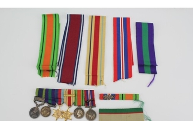 A Collection of Medals to include the Defence 1939-1945, N.W...