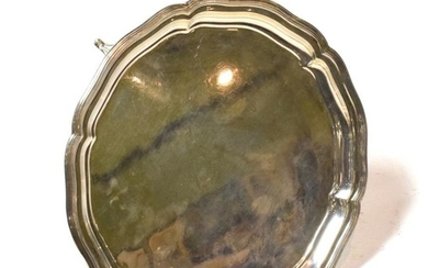 A George VI silver salver, by William Hutton and Sons,...