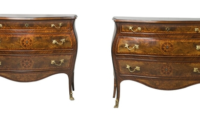 A Pair of Chests of Drawers