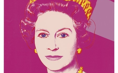 ANDY WARHOL (1928-1987), Queen Elizabeth II, from: Reigning Queens (Royal Edition)