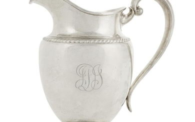 An American sterling silver pitcher Gorham Mfg. Co, Providence,...
