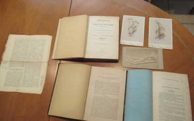 Author's Archive: Works By Georg Baur On Vertebrate Paleontology, Evolution And And Acquired Characteristics, Including Reserches In The Galapagos Islands [Three Bound Volumes Of Original Manuscript, Notes, Offprints, Etc.]