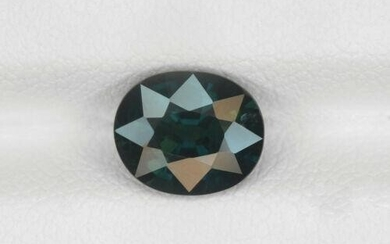 Blue Sapphire - 1.89 ct - Madagascar - Oval - with GRS