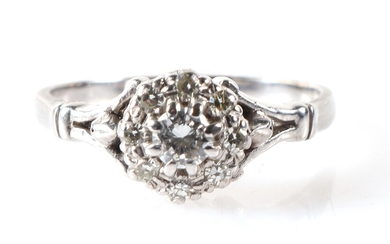 Brillant Diamant Damenring zus. ca. 0,30 ct