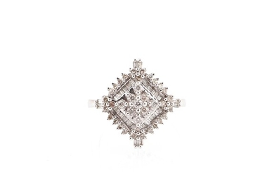 Brillant Diamant Damenring