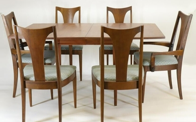 Broyhill Brasilia Walnut Table and Chairs
