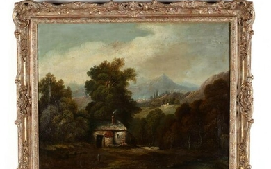 Continental School (19th century), Landscape with