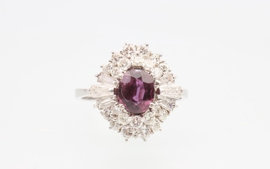 Diamant Rubin Ring