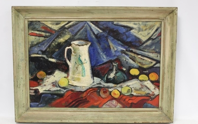 EARLY 20TH CENTURY SCOTTISH COLOURIST SCHOOL.Still life with...