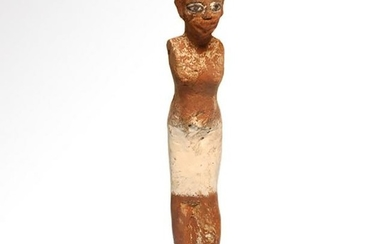 Egyptian Wooden Figure of a Attendant/Servant, Middle