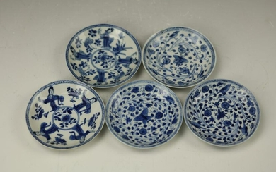 Fine chinese Blue and White Porcelain Dish,17th Century
