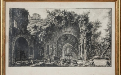 "Giovanni Battista PIRANESI (1720 - 1778). ""The so-called..."