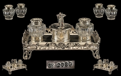 Joseph and John Angell Superb Quality Sterling Silver Double...
