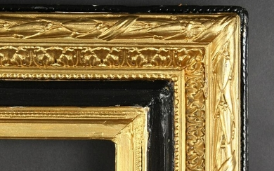 Late 19th Century French Composition Frame Painted