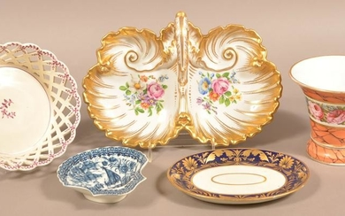 Lot of 18th and 19th Century Creamware and Porcelain.