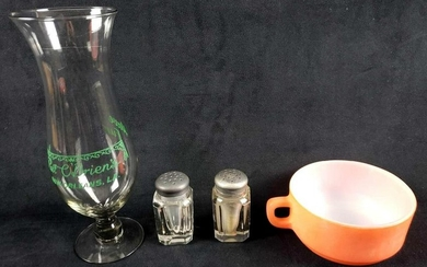 Lot of 4 Miscellaneous Vintage Mid Century Modern Items