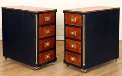PR CAMPAIGN STYLE OFFICE CABINETS ON WHEELS 1900